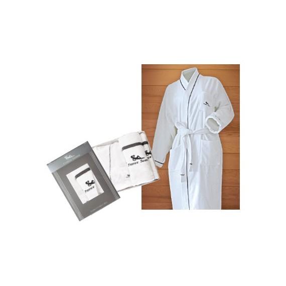 Coffret Sauna - Peignoir et serviettes