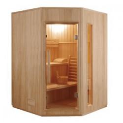 Sauna Vapeur ZEN Angulaire - 3 places