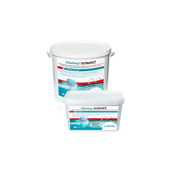 Chlorilong® ULTIMATE 7 by BAYROL- Seau 4,8 kg